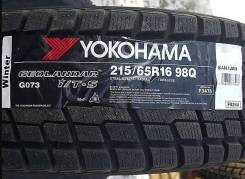 Yokohama Geolandar I/T-S G073. Зимние, без шипов, 2017 год, без износа, 4 шт