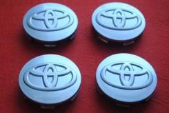 "Колпачки на Toyota! DIA 59/56 mm. В наличии!. Диаметр 16"", 1 шт."