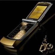 Motorola Dolce & Gabbana GOLD 2006 год.