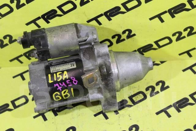 Стартер. Honda Fit, LA-GD2, UA-GD3, UA-GD2, LA-GD1, UA-GD1, CBA-GD4, UA-GD4, CBA-GD3, DBA-GD2, DBA-GD1, DBA-GD3, DBA-GD4, GD1, GD2, GD3, GD4 Honda Mob...