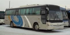Daewoo BH120F. Междугородний автобус , 11 000 куб. см., 43 места