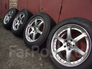 """BIM Drift Master(Bridgestone) 18"""" 8,5 off+44 5*114.3. 8.5x18, 5x114.30, ET44, ЦО 73,0мм."""