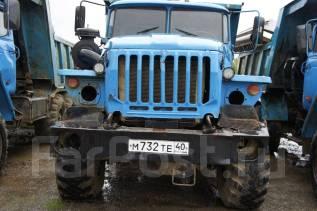 Урал 5557. (самосвал)., 11 000 куб. см., 10 000 кг.