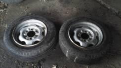 Колеса LT на 15.5 Dunlop. x15.5 ЦО 100,2мм.
