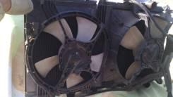 Радиатор охлаждения двигателя. Mitsubishi Galant, E54A Двигатель 6A12