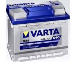 Varta. 60А.ч., Прямая (правое), производство Европа. Под заказ