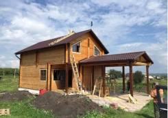Строительство домов, коттеджей из бруса, блоков и сип-панелей