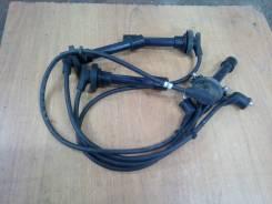 Высоковольтные провода. Toyota Sprinter Carib, AE95G Двигатель 4AFE