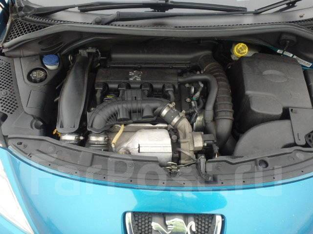 Двигатель 1.6B EP6DT (5FX) на Peugeot без навесного