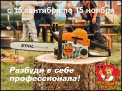 Осенняя акция Stihl - Бензопилы - Электропила - Воздуходув