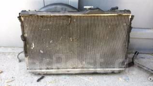 Радиатор охлаждения двигателя. Toyota Chaser, JZX100 Двигатель 1JZGTE