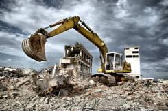 Снос, слом, промышленный демонтаж, разборка старых зданий - Хабаровск