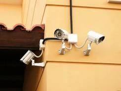 Электромонтажные работы, монтаж систем видео-наблюдения.