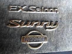 Эмблема багажника. Nissan Sunny, FB15