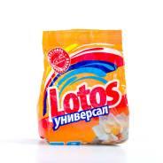 Порошок стиральный Лотос, Универсал 400гр/мягкая упаковка