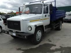 ГАЗ 35071. ГАЗ-САЗ-35071 Самосвал, 4 430 куб. см., 4 000 кг.