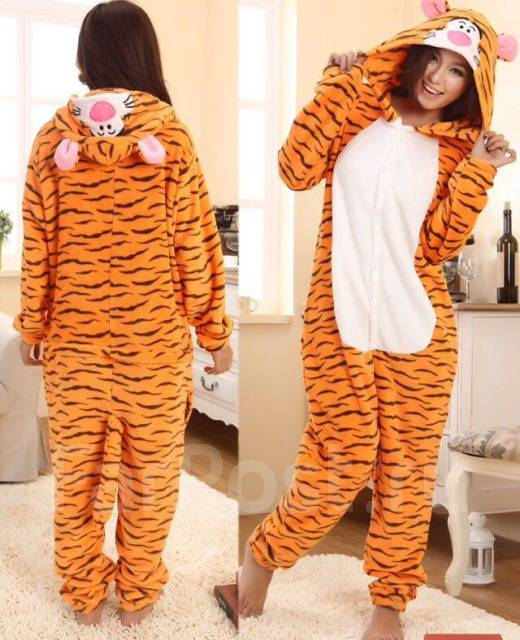 Пижама кигуруми тигр - Одежда для дома и сна во Владивостоке b79306df7c1dd