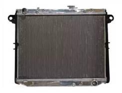 Радиатор охлаждения двигателя. Toyota Land Cruiser, FZJ105, UZJ100, HDJ100, HZJ105, HDJ101 Lexus LX470, UZJ100 Двигатели: 1HZ, 1HDFTE, 2UZFE, 1FZFE