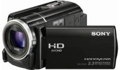 Sony HDR-XR160E. с объективом