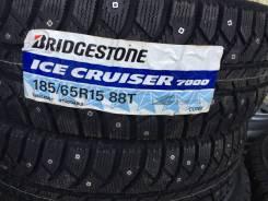 Bridgestone Ice Cruiser 7000. Зимние, без шипов, 2016 год, без износа, 4 шт