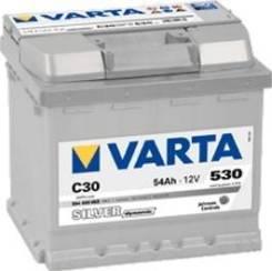 Varta. 54 А.ч., Обратная (левое), производство Европа. Под заказ
