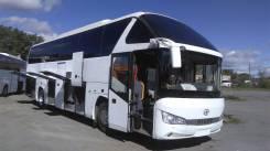 Higer KLQ6122B. Higer KLQ 6122B, 51 место, туристический автобус со спальником, 8 880 куб. см., 51 место