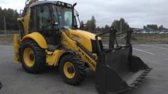 New Holland. Экскаватор-погрузчик B100В, 4 500 куб. см., 1,20 куб. м.