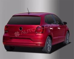 Хромированные накладки ручек дверей Volkswagen Skoda. Volkswagen Jetta, 162 Volkswagen Polo, 6R1, 612, 602 Volkswagen Tiguan, 5N2, 5N1, AD1 Skoda Rapi...