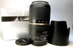 Tamron Sp A005 70-300 мм F/4.0-5.6 Di Vc Usd Nikon. Для Nikon, диаметр фильтра 62 мм
