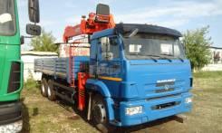 Камаз 65117. бортовой с КМУ Kanglim 7т., 6 700 куб. см., 7 000 кг.