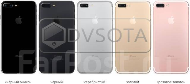Apple iPhone 7 Plus. Новый, 128 Гб, Белый, Золотой, Красный, Черный, 4G LTE