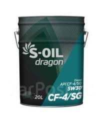 S-Oil Seven Dragon Turbo. Вязкость 5W 30, полусинтетическое
