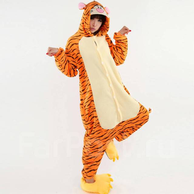 Кигуруми тигр. пижама - Одежда для дома и сна во Владивостоке fd1f59bfdf68c