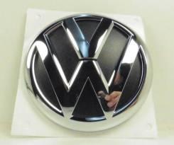 Эмблема. Volkswagen Passat Volkswagen Golf Plus, 5M1 Двигатели: BXJ, CAYB, BXE, CAXA, AXW, CMXA, BSE, BVY, BRU, BKD, BMY, BLY, BGU, BXF, CBDB, CBZB, B...