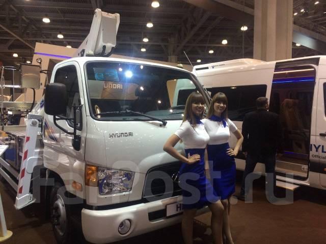 Hyundai HD78. Новый Автогидроподъёмник на шасси Hyundai HD -78, 3 933 куб. см., 22 м.
