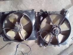 Вентилятор охлаждения радиатора. Toyota Corona, ST195 Двигатель 3SFE