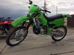 Kawasaki KDX 200. 200 куб. см., исправен, птс, без пробега