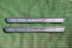 Накладка на порог. Subaru Impreza, GH8 Двигатели: EJ20X, EJ20