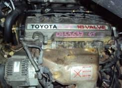Двигатель в сборе. Toyota: Caldina, Vista, Carina, Camry, Corona Двигатель 4SFE