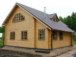 Дом из бревна камерной сушки