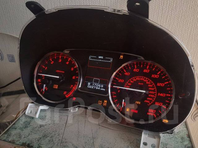 Панель приборов. Subaru: Impreza WRX STI, XV, Impreza WRX, Forester, Impreza, Impreza (GJ), Impreza (GP XV)
