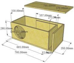 Расчёт и изготовление сабвуферов