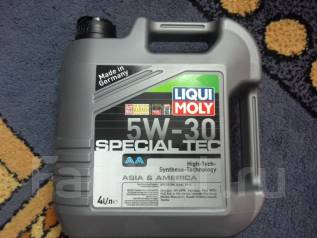 Liqui moly Special Tec. Вязкость 5W-30, синтетическое