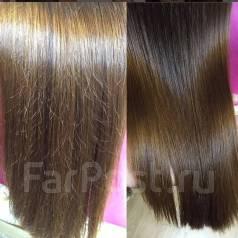 Кератиновое выпрямление и восстановление волос!