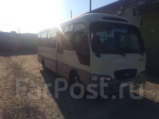 Hyundai County. Автобус hynday caunty, 3 900 куб. см., 25 мест