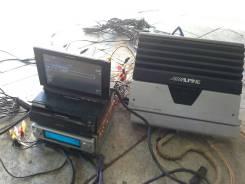 Pioneer CarrozzeriaDEX-P01c HDD к-т с проводами+2Усилителя+2монито