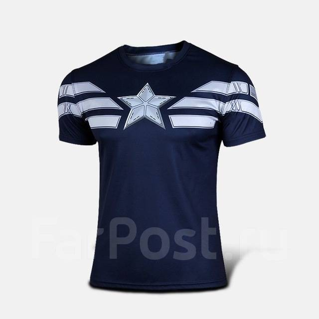 93f0b09d7dcdea Распродажа! Футболка капитан америка) - Спортивная одежда во ...