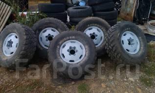 Полный комплект отличных колес 315/75R16 5 (шт). 7.0x16 6x139.70 ET0 ЦО 100,0мм.