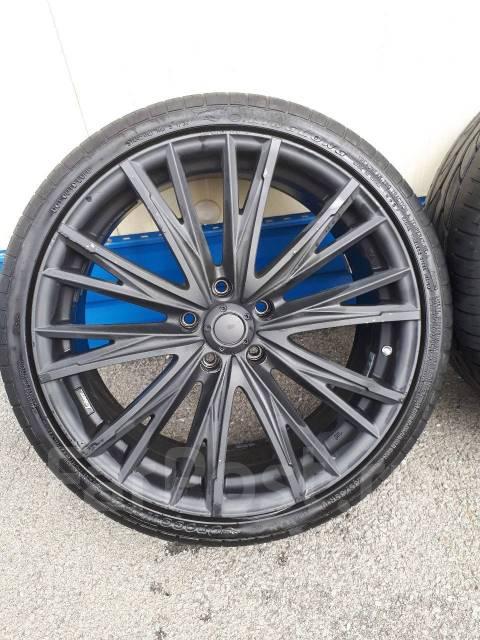 Комплект разношироких колес R19 8/9J ET35 Kranze оригинал япония. 9.0/8.0x19 5x114.30 ET35/35