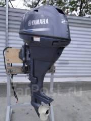 Yamaha. 25,00л.с., 4-тактный, бензиновый, нога L (508 мм), Год: 2015 год